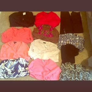 Women's dress clothes lot
